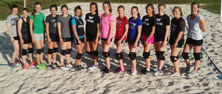 Volleyball Damen – 2. Spieltag 2017/18
