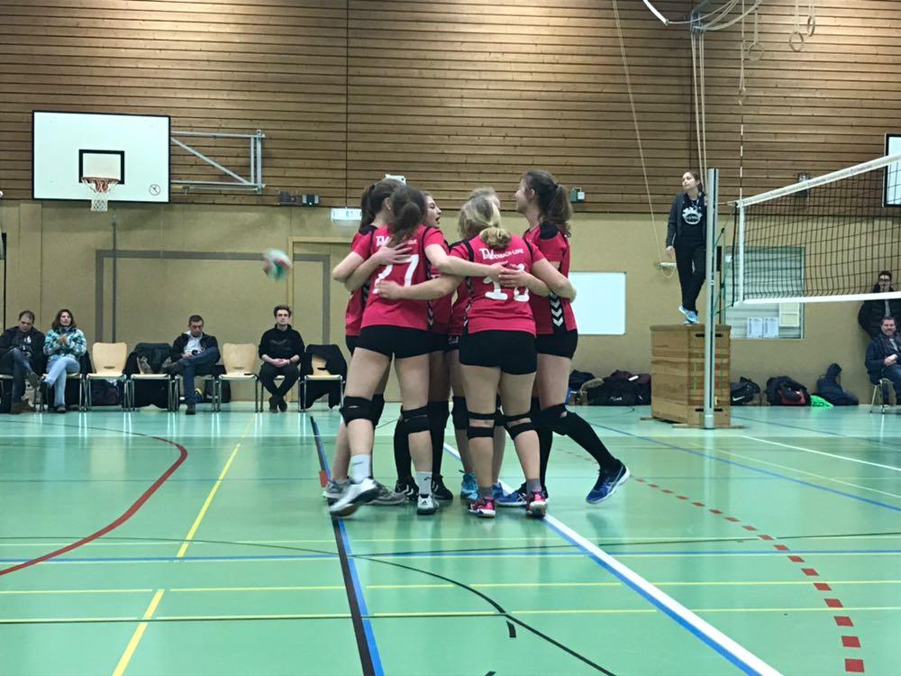 Volleyball Damen – 12. Spieltag 2017/18