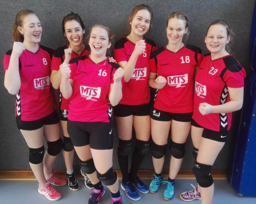 Volleyball Damen setzen Siegesserie fort…